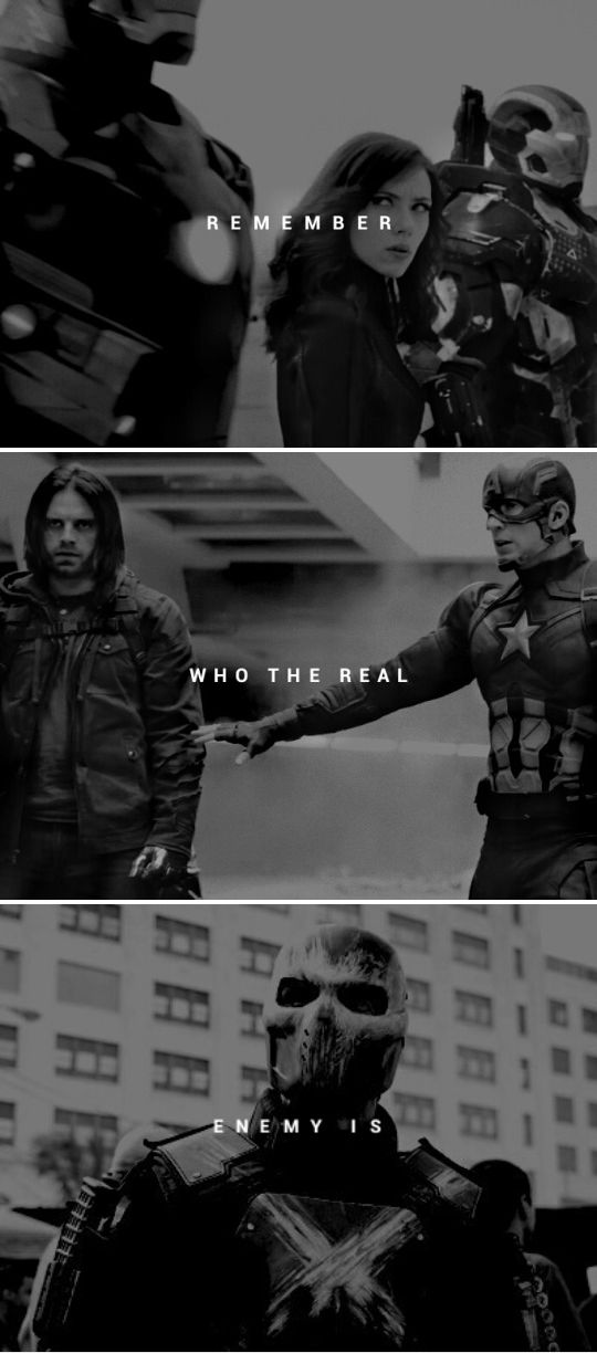 Divided we fall United we stand #marvel