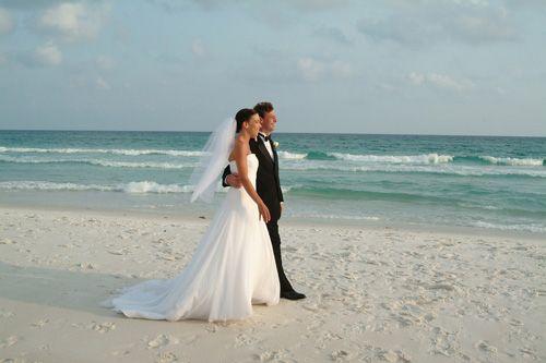 A wedding at the beach!