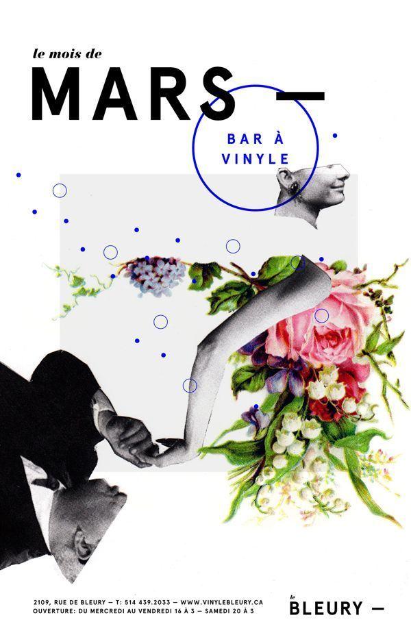 Le Bleury. poster design