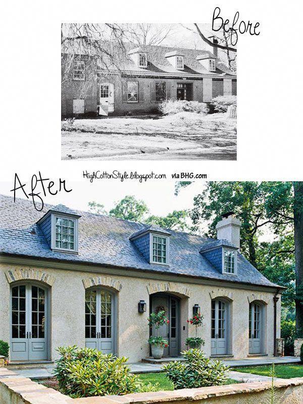 Before And After House Renovation Homeremodelingbeforeandafter Mansard Roof House Exterior Exterior Remodel