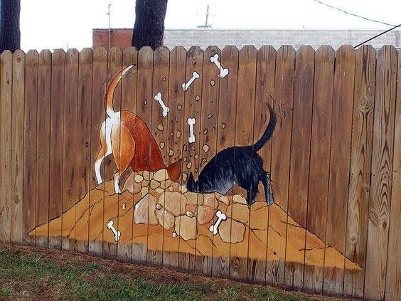 Fence Decal