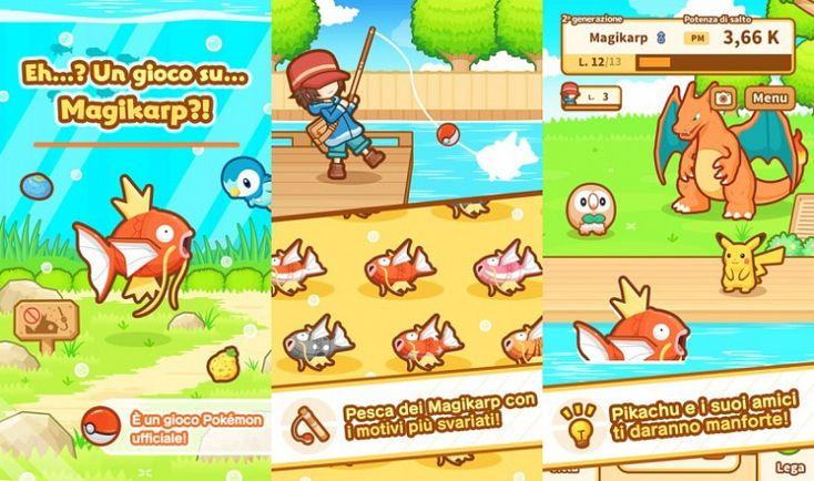 Pokemon: Magikarp Jump the new Pokémon mobile game arrives in Italy iOS Pokémon: Magikarp Jump