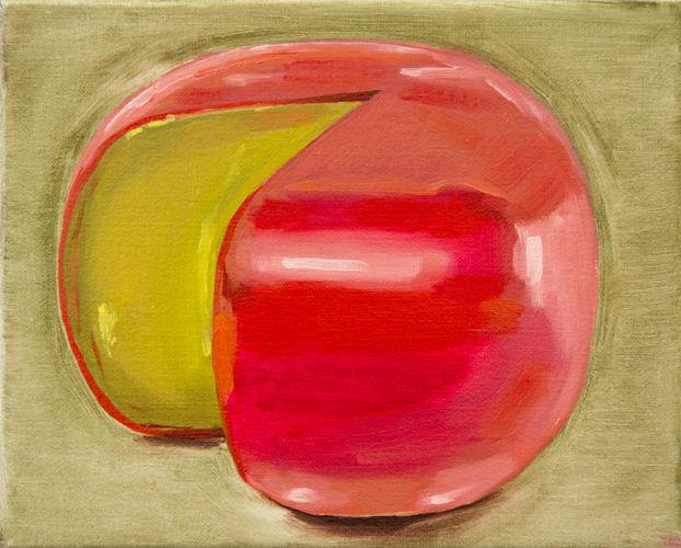 Cheese XXX, oil on linen, Sally Kindberg, 2013