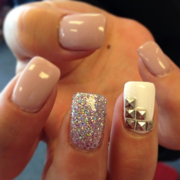 Maybe not the studded nail. Not a huge fan.