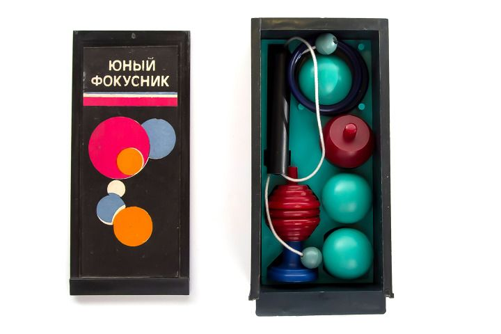 Young Magician kit; Date:1980 — 1989; Made in USSR
