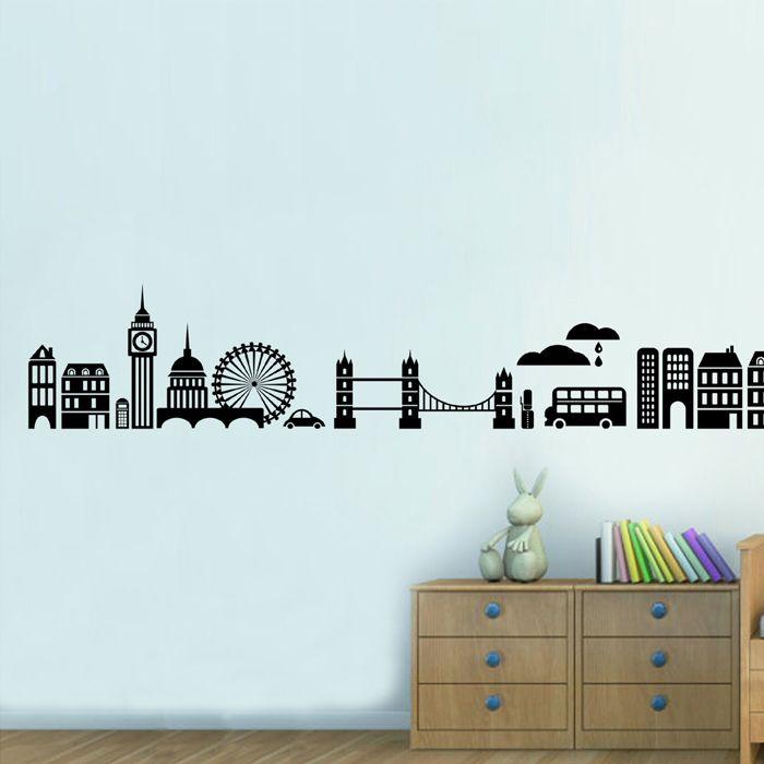 Londoni városkép falmatrica  #london #város #city #gyerekszobafalmatrica #falmatrica #gyerekszobadekoráció #gyerekszoba #matrica #faldekoráció #dekoráció
