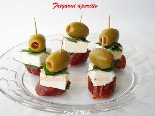 Frigarui aperitiv 2, Rețetă Petitchef