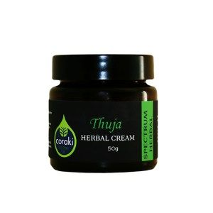 Coraki Thuja Cream. THUJA has been traditionally used and known to assist in the management of minor warts, corns, calluses and athlete's foot. May also help with for ringworm and thrush.