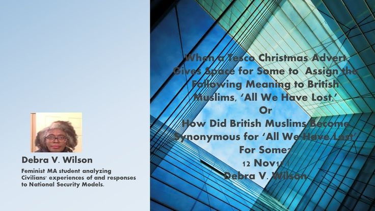 How/Why Did British Muslims Become Synonymous for 'All We Have Lost' For...