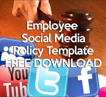 29 best social media policies images on pinterest social for Employee social media policy template