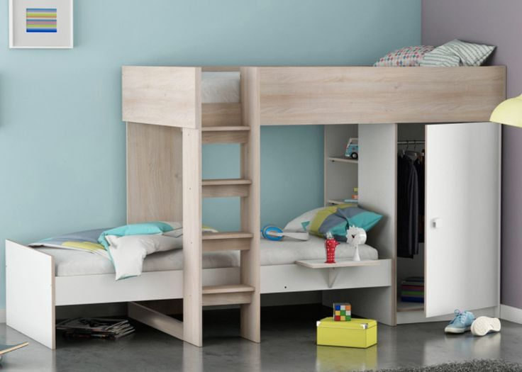 25 beste idee n over hoogslaper op pinterest tiener appartement tiener kamer ontwerpen en - Tiener hoogslaper ontwerp ...