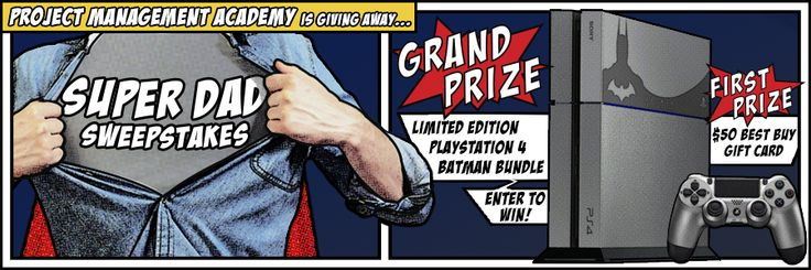 Enter to win a Sony Playstation 4 Game Console and copy of the game Batman: Arkham Knight or secondary prize of $50 Best Buy Gift Card! ARV: $499