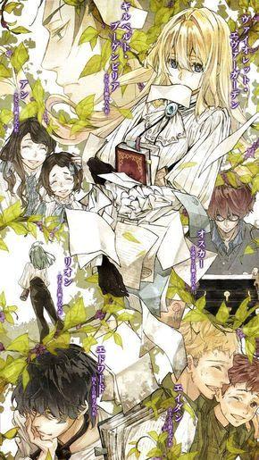 """Résultat de recherche d'images pour """"violet evergarden light novel"""""""