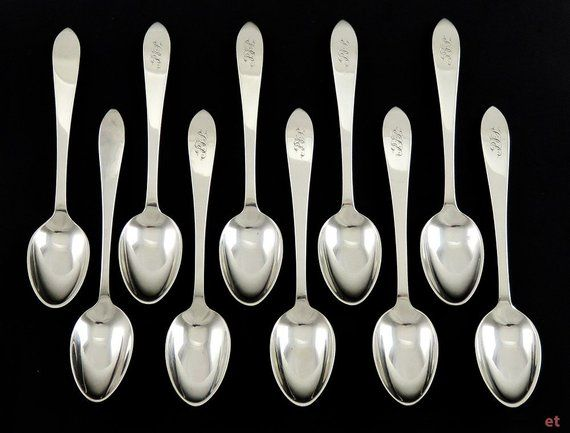 Gorham Fairfax Sterling Silver Demitasse Spoon