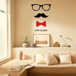 Love http://www.artollo.com/art/living-room/wall-decals-stay-classy-wall-decal/