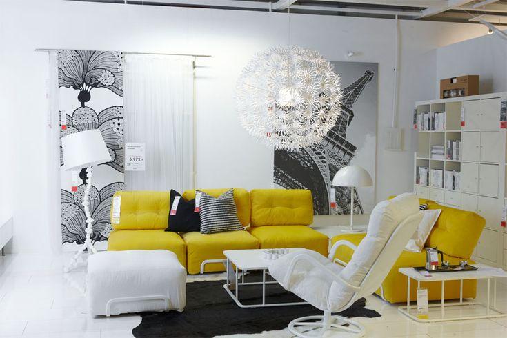 Ikea Living Room, Interior Design Using Ikea Furniture