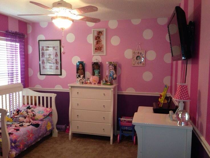 Striped & dots kids rooms