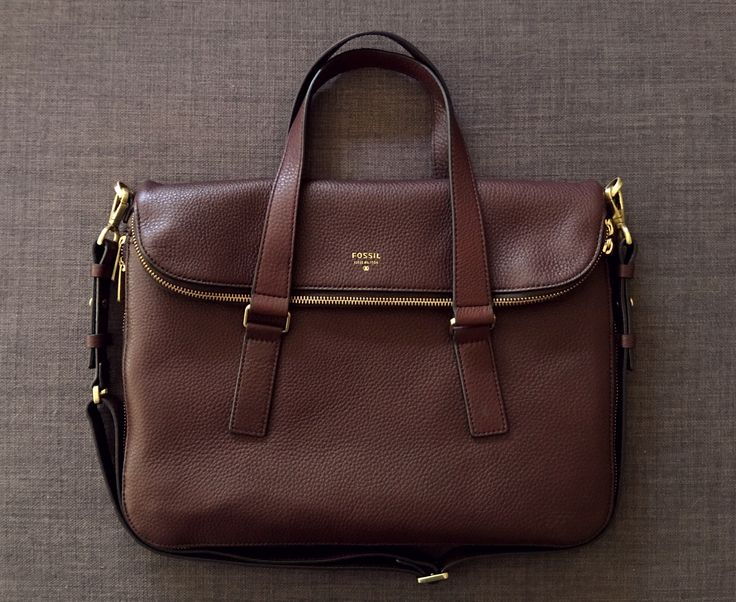 Fossil Preston Tote Espresso // In Love