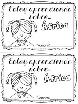 Continent Facts Unit Booklet Africa Spanish Edition