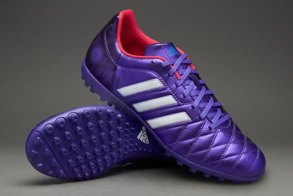 adidas Football Boots - adidas 11Questra TRX Turf - Astro Turf - Soccer Cleats - Blast Purple-Running White-Vivid Berry