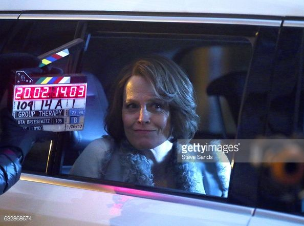 News Photo : Sigourney Weaver seen filming Marvel's 'The...