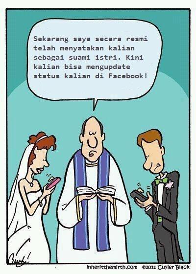Sekarang kalian bisa mengupdate status kalian di Facebook!