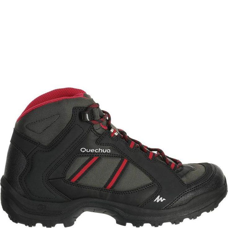€14,99 - Deportes de Montaña - botas de montaña Arpenaz 50 mujer negro  - QUECHUA