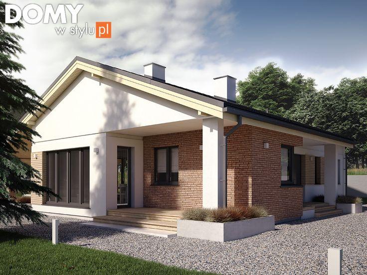 Projekt domu Malmo (108 m2). Pełna prezentacja projektu dostępna jest na stronie: https://www.domywstylu.pl/projekt-domu-malmo.php #domywstylu #mtmstyl #projekty #projektydomów #projektydomow #projektygotowe #dom #domy #projekt #budowadomu #budujemydom #design #newdesign #home #houses #architektura #architecture