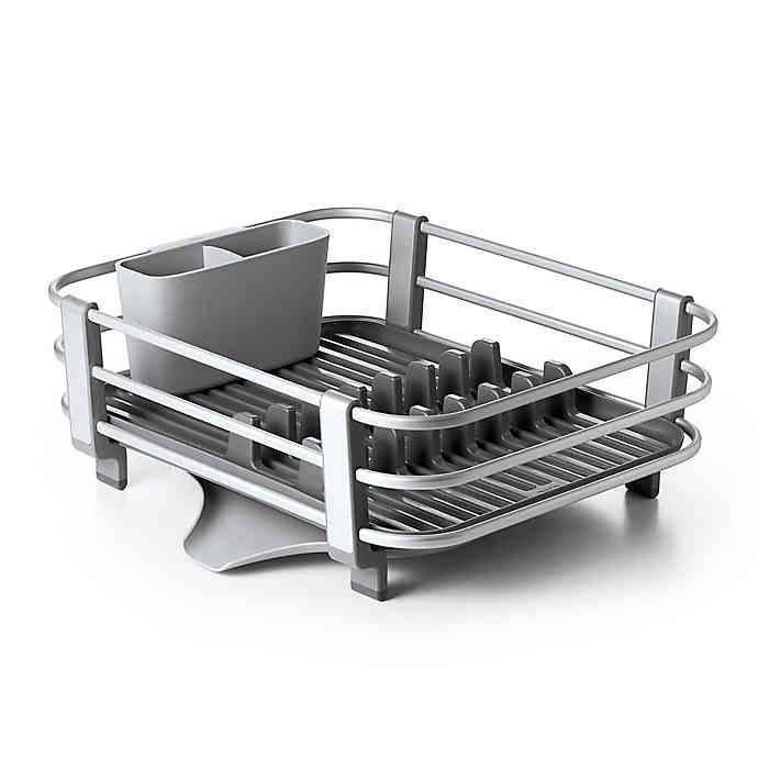 Oxo Good Grips Aluminum Dish Rack Bed Bath Beyond In 2020