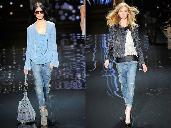 Фото моды закатанные джинсы