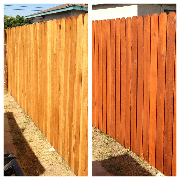 139 Best Stained Fences Images On Pinterest Backyard