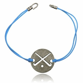 $14.95  leaves a field hockey tan mark, but pricey! Chalk Talk Sun Impression Field Hockey Bracelet - Click to enlarge