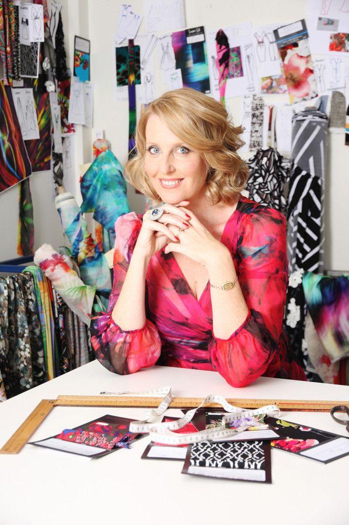 Meet Sacha Drake, Owner and Designer of #women's #fashion label, 'Sacha Drake'.
