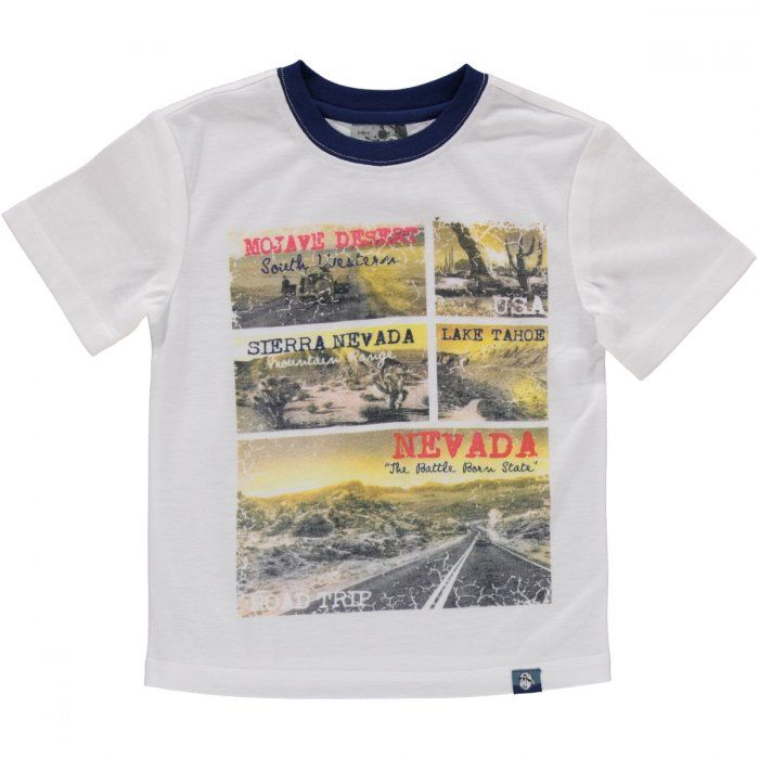 """Oatmeal melange """"been there seen that"""" printed t-shirt Image 1"""