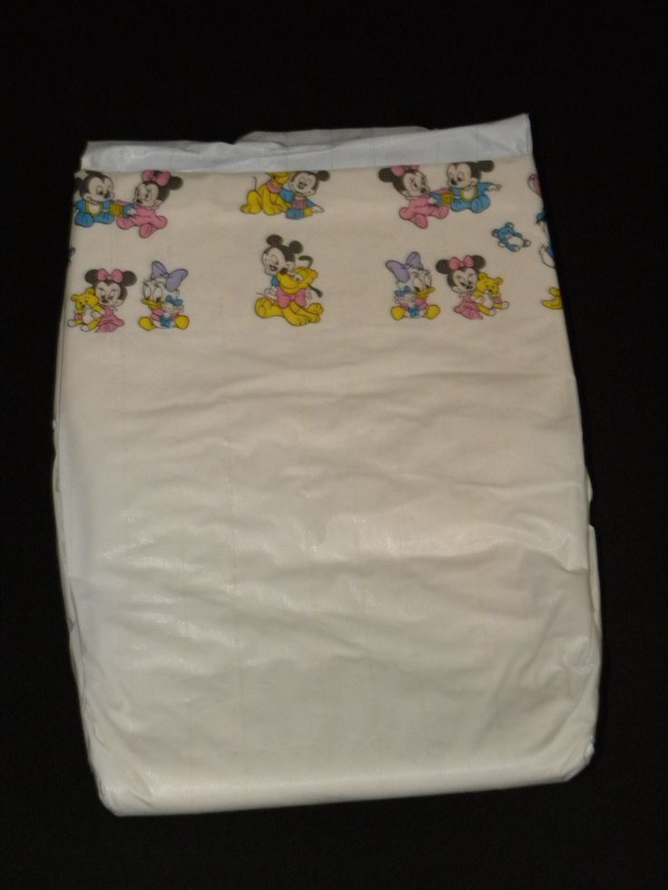 Pampers diaper with Disney Babies