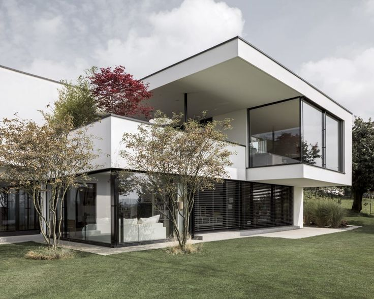 Wie individuell man sein Wohnhaus mit viel Glas gestalten ka…