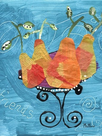 "Artsonia Art Museum - ""Pear Still Life Inspired by Cezanne"""