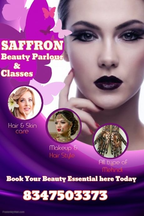 Copy Of Beauty Salon Poster Template Beauty Salon Posters Video Games For Kids Healthy Dinner Recipes Easy