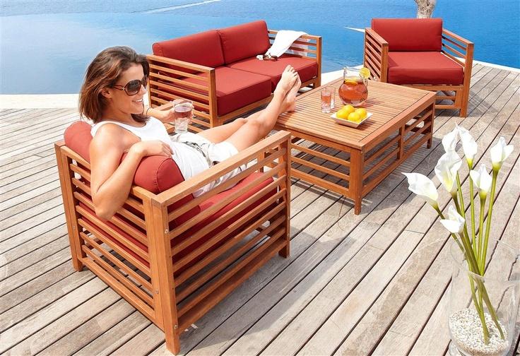 18 best design gartenm bel images on pinterest backyard furniture garden furniture outlet and. Black Bedroom Furniture Sets. Home Design Ideas