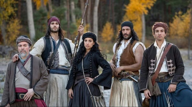 Cliffs of Freedom, Greek War of Independence Film, Opens in March Emily Michael