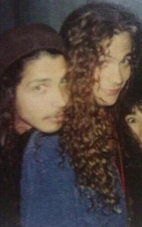 Chris Cornell and Mike Starr