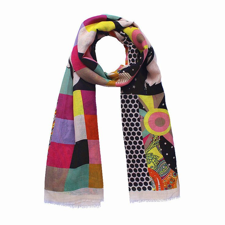 "Women's Fashion Scarf Print Cotton Soft Large Beach Scarf Wrap Shawl 35""71"""