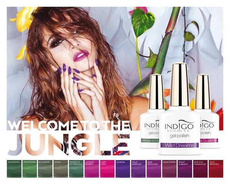 Jungle collection #indigonails #indigonaillab #gelpolish #jungle