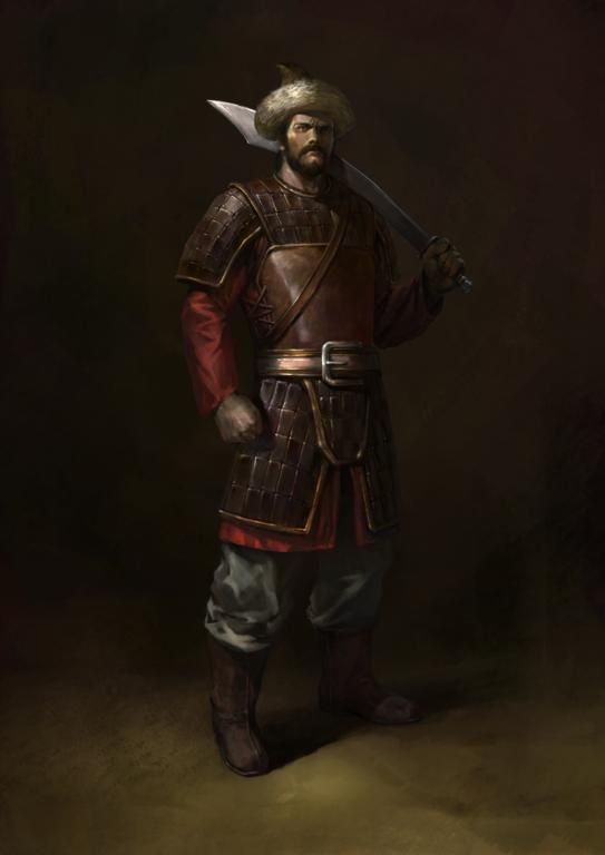 #Atilla The Hun--supposed to be a relative of mine!