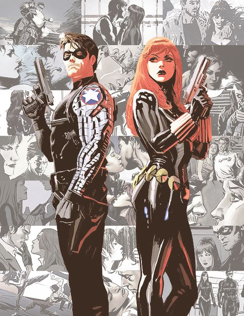 Winter Soldier and Black Widow.