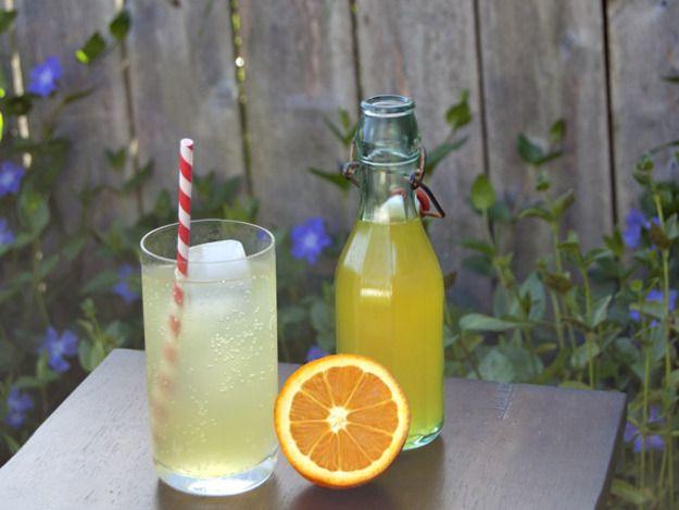 DIY Orange Soda