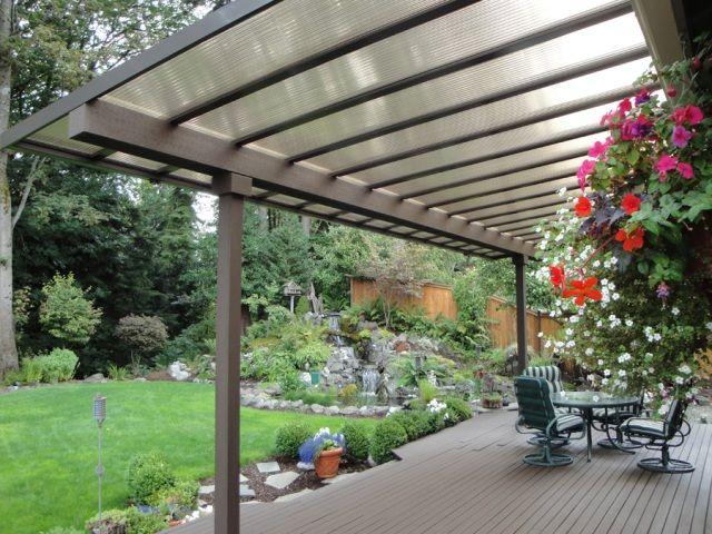 M s de 25 ideas incre bles sobre marquesinas de patio en - Cubiertas para terrazas ...