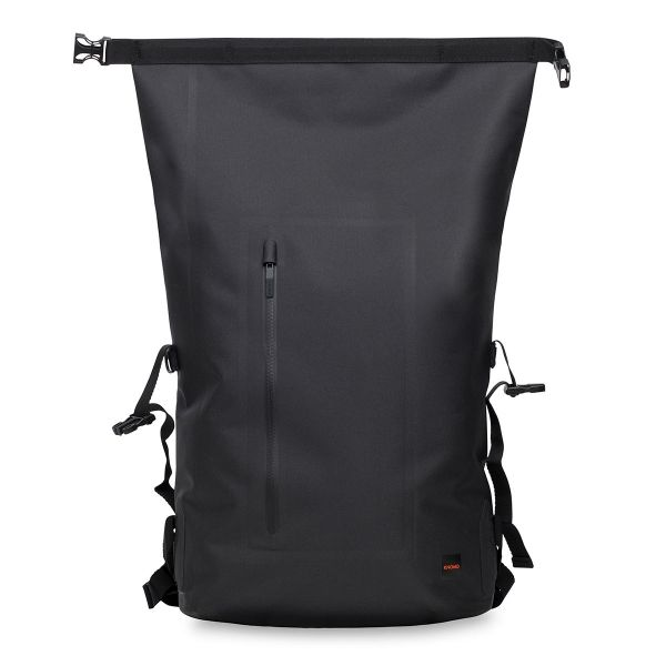 "Cromwell Men's 15"" Roll Top Backpack - Black 