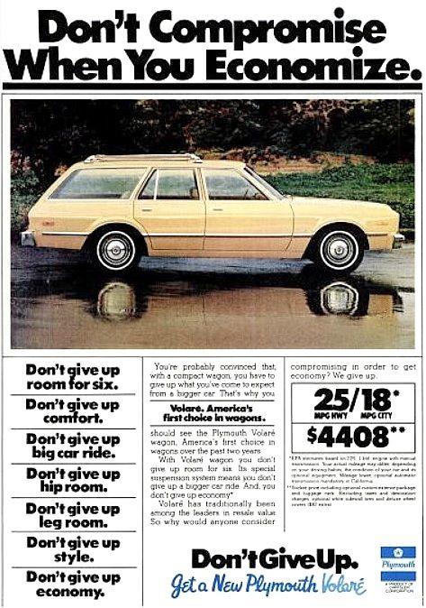 1978 Plymouth Volare' Wagon