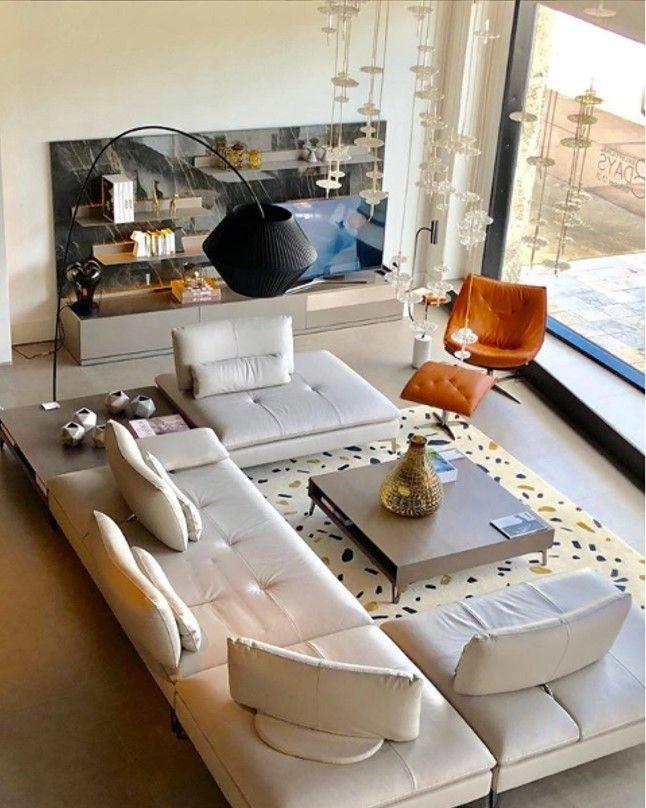 Roche Bobois L Scenario Sofa L Designed By Sacha Lakic Interior Design Living Room Moroccan Living Room Home Living Room